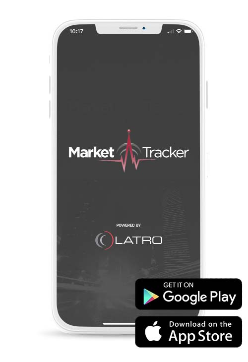 Market Tracker is available on App Store and Play Store